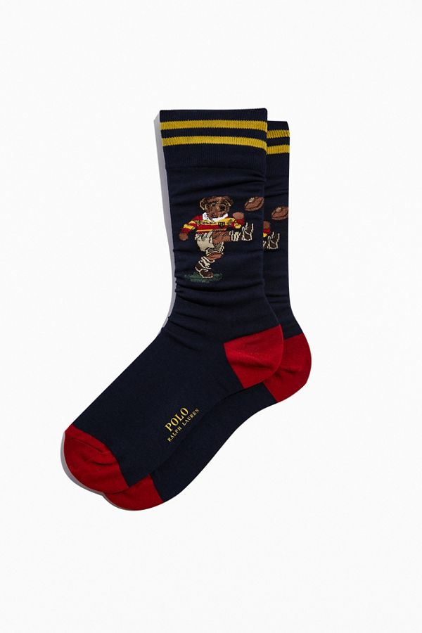 polo-ralph-lauren-rugby-kicker-bear-crew-sock by polo-ralph-lauren
