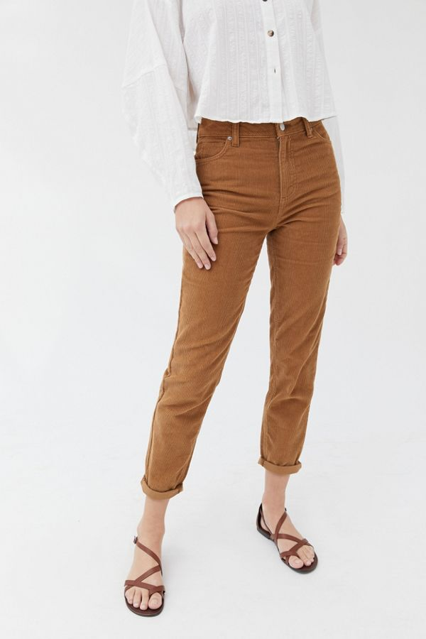 Bdg Color Corduroy High Rise Mom Pant by Bdg