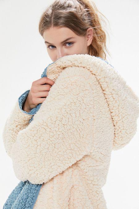 22479ae75f93 Women's Fleece, Faux Fur, + Fuzzy Jackets | Urban Outfitters