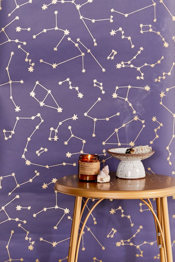 Constellations Removable Wallpaper Urban Outfitters
