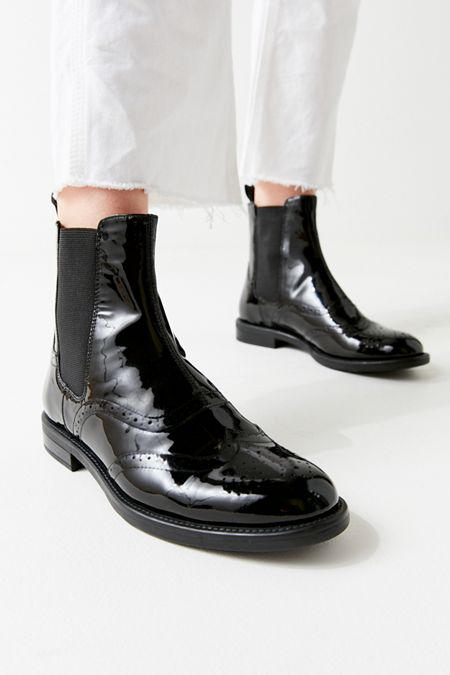 796aade26ae Vagabond Shoemakers Amina Patent Leather Chelsea Boot