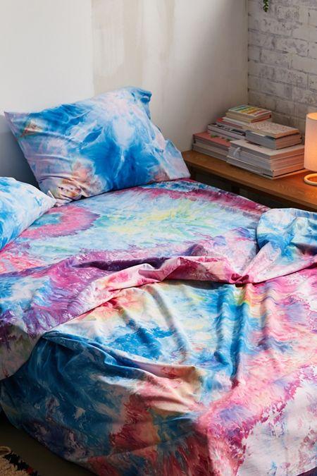 5abfe65b4bad Riverside Tool & Dye UO Exclusive Hand-Dyed Rainbow Sheet Set