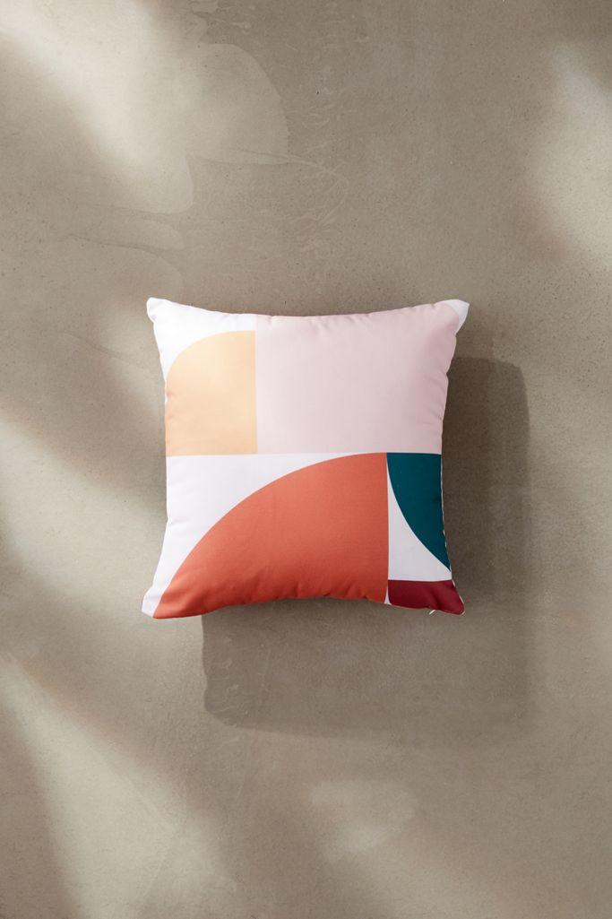 16 x 16 13864-thpo16 Deny Designs Lana Greben Upside Down Inside Out 2 Throw Pillow