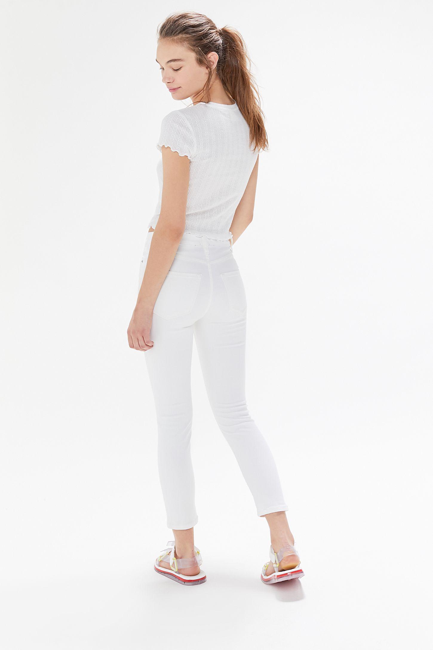 Jean Blanc Taille Haute 2