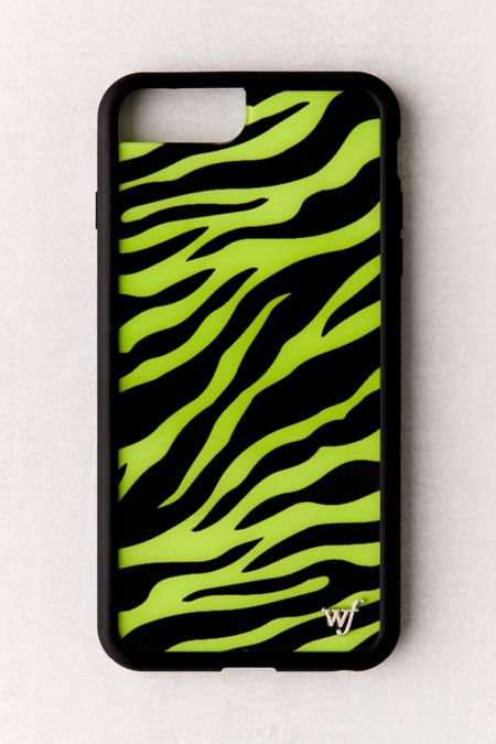 606434ee68 Wildflower Neon Zebra iPhone Case