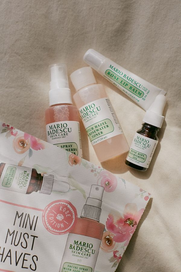 Mario Badescu Mini Must Haves Set Rose Edition