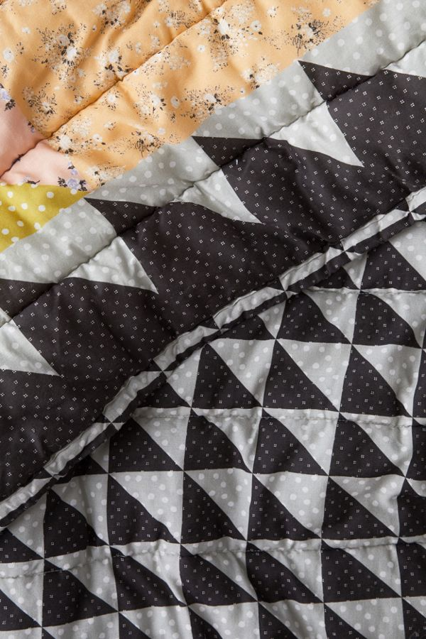 Valentina Mixed Print Reversible Quilt by Urban Outfitters
