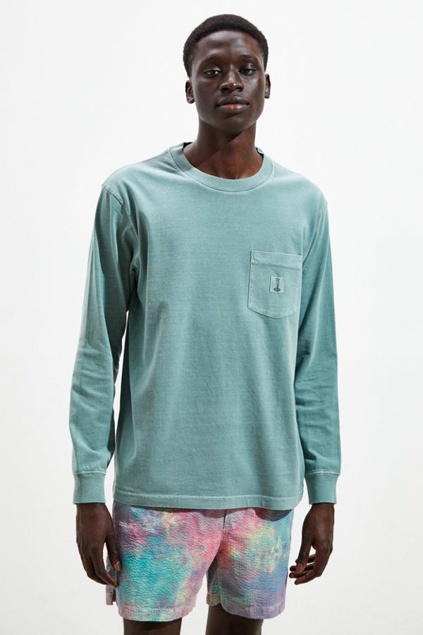 Uo Heavyweight Washed Long Sleeve Tee by Urban Outfitters