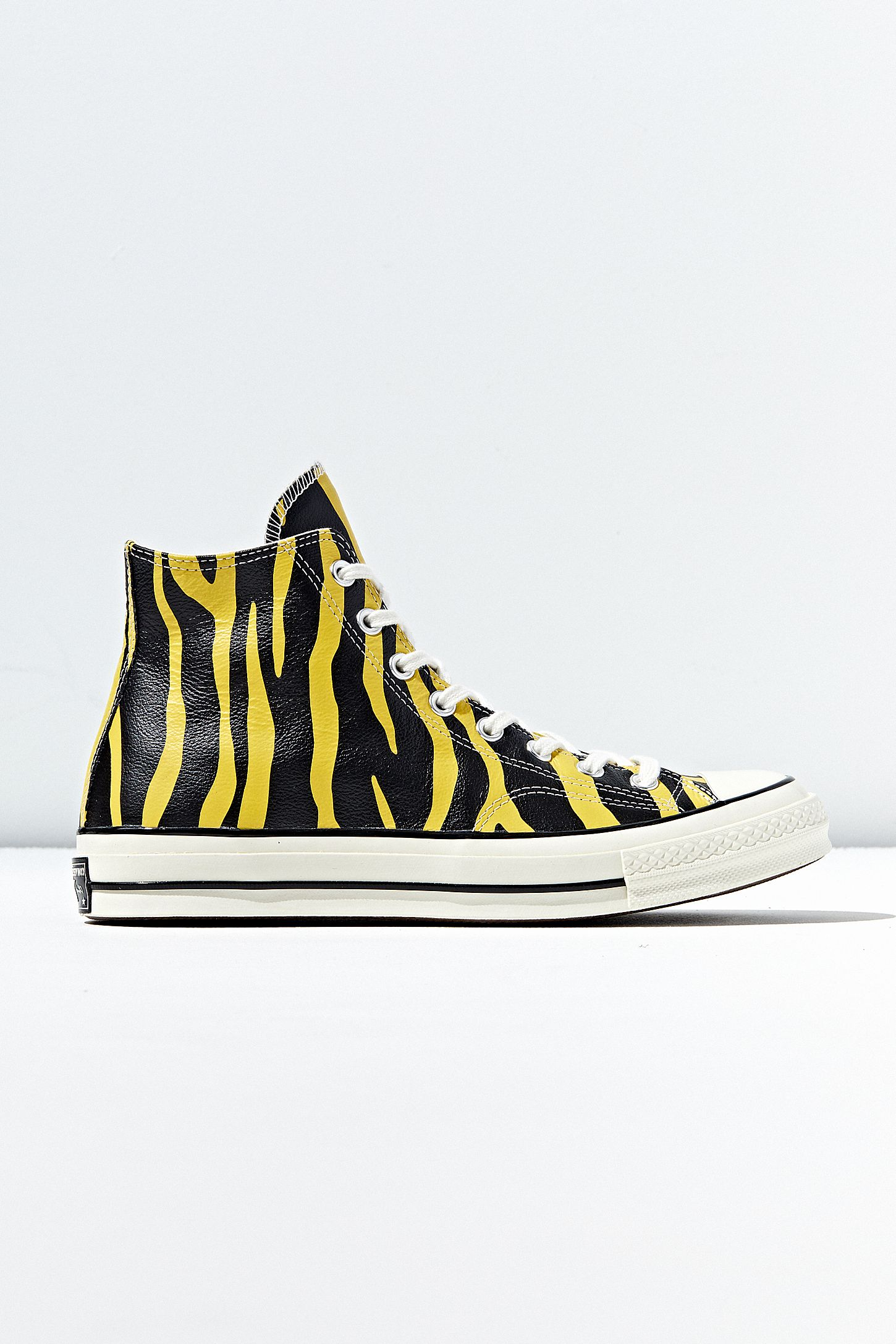 Converse Chuck 70 Archive Print Leather High Top Sneaker