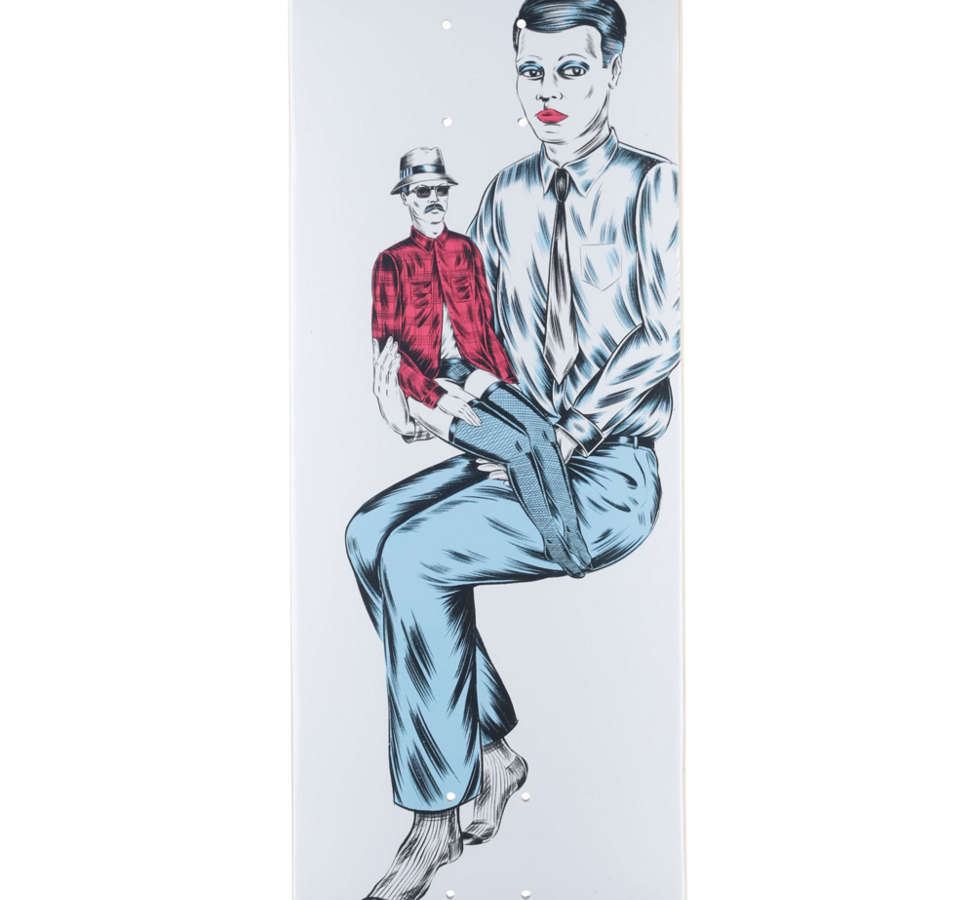 Slide View: 1: Baker Rowan Boys Of Summer 2 Skateboard Deck 8.5 x 32