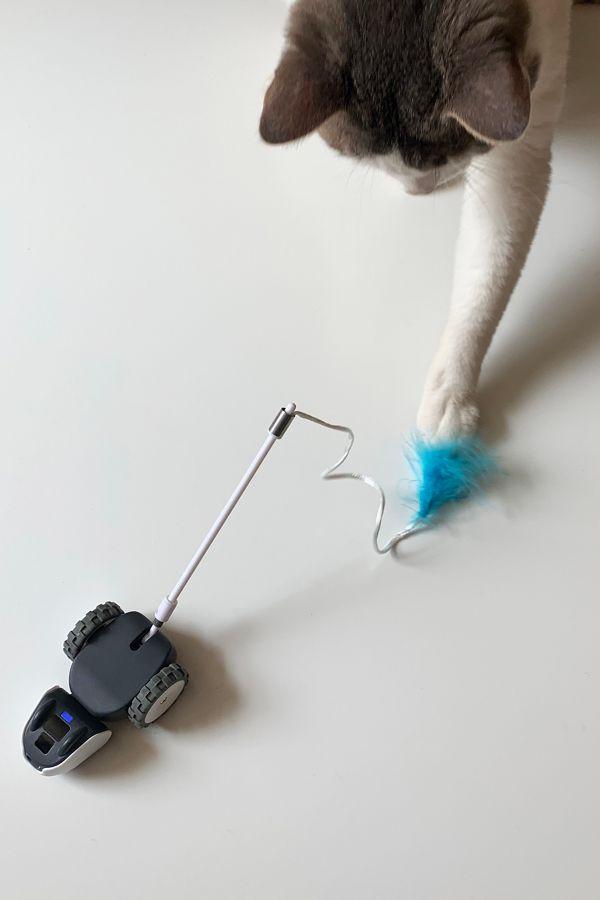 Slide View: 1: Petronics Mousr Robot Cat Toy