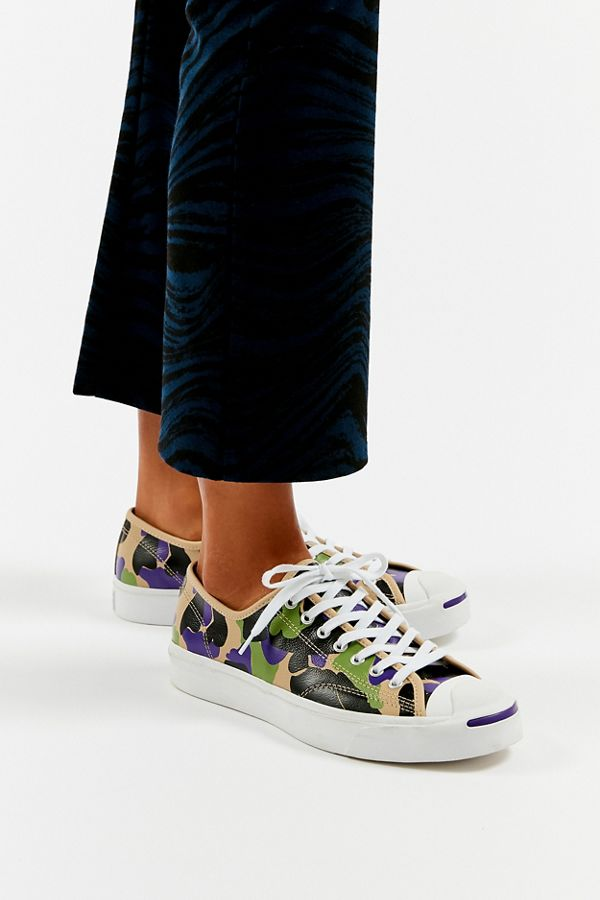 Converse Jack Purcell Archive Print Low Top Sneaker by Converse