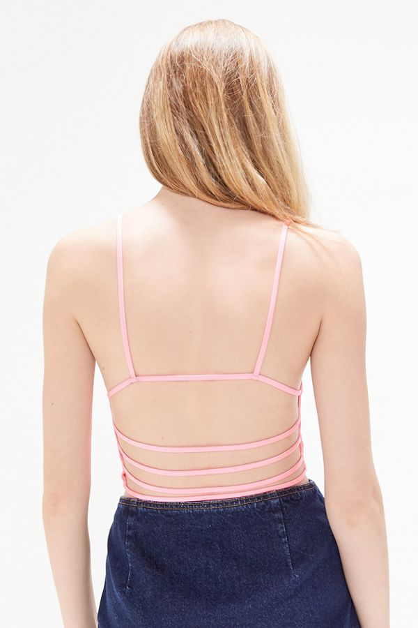 Uo Zoe Strappy Back Cropped Cami by Urban Outfitters