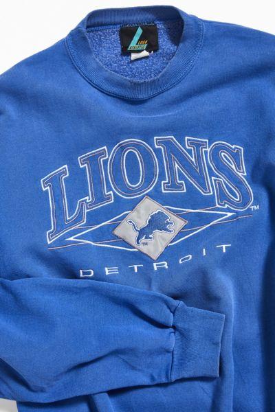 vintage detroit lions sweatshirt