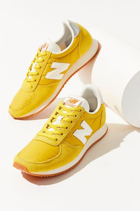 new balance 574 women yellow