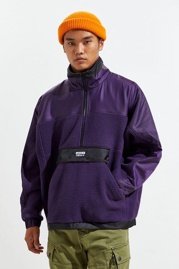 adidas fleece zip