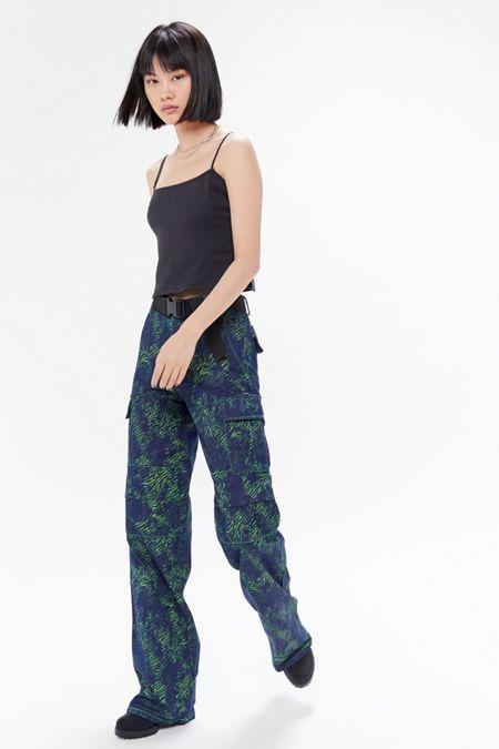 a0846081364f I.AM.GIA Sinead Printed Cargo Jean