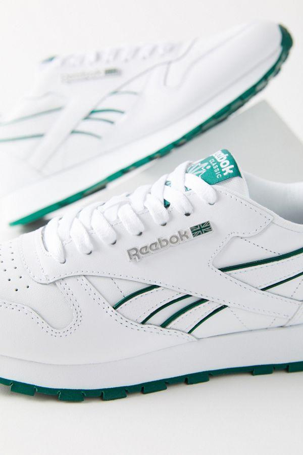 REEBOK WMNS Classic Leather Damen Sneaker Freizeit Schuh Sport Schnürer weiß