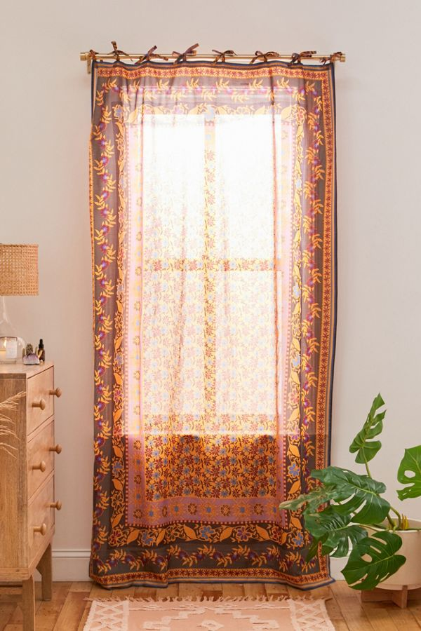 Slide View: 1: Mya Voile Window Panel