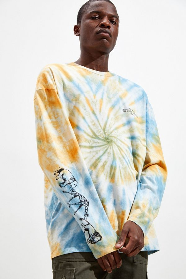 Take The Risk Tie Dye Tee by Urban Outfitters
