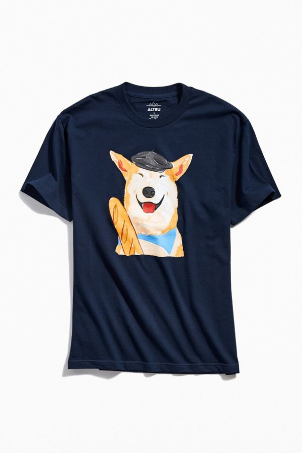 Slide View: 1: French Dog Tee