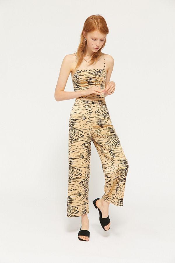 5f5b3968f6 UO Olympia Printed Wide Leg Pant | Urban Outfitters