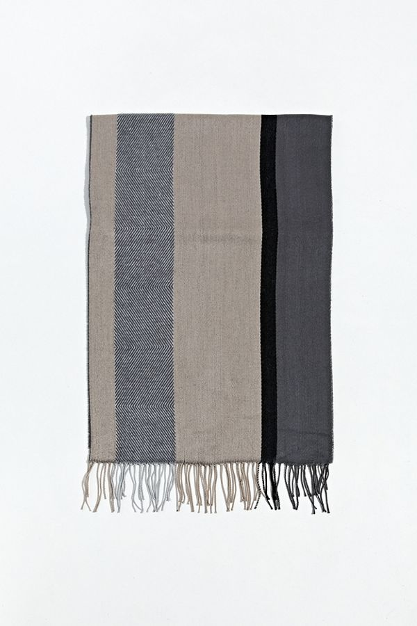 Uo Mixed Pattern Scarf by Urban Outfitters