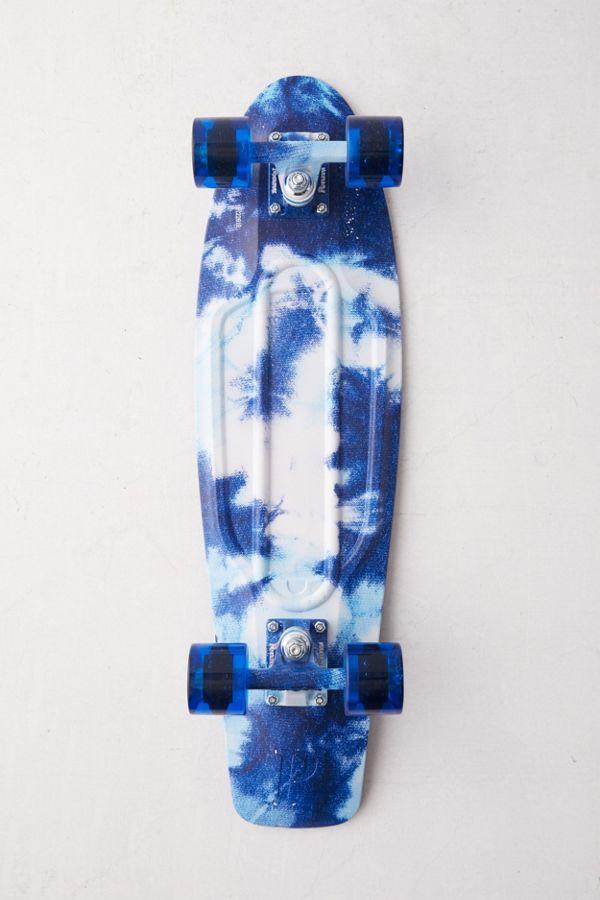 """Spiksplinternieuw Penny Skateboards Cracked Dye 27"""" Nickel Complete Skateboard NS-68"""