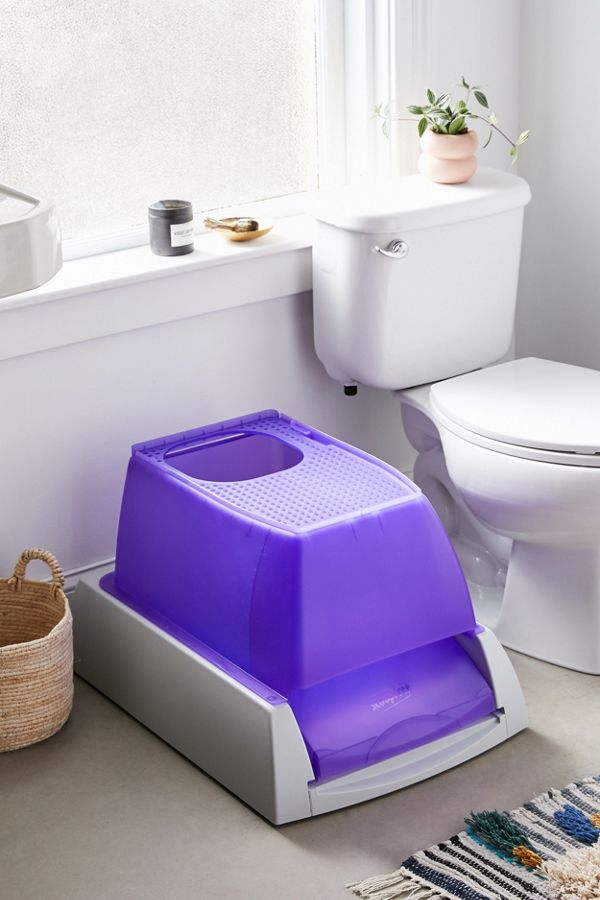 Slide View: 1: PetSafe Top-Entry Ultra Self-Cleaning Litter Box