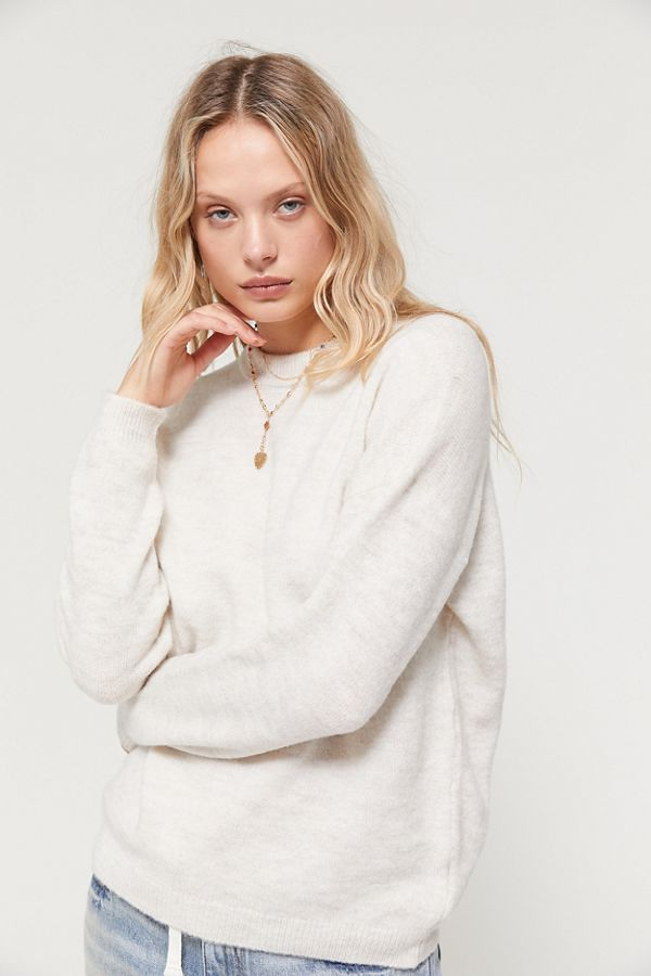 Uo Alexi Crew Neck Sweater by Urban Outfitters