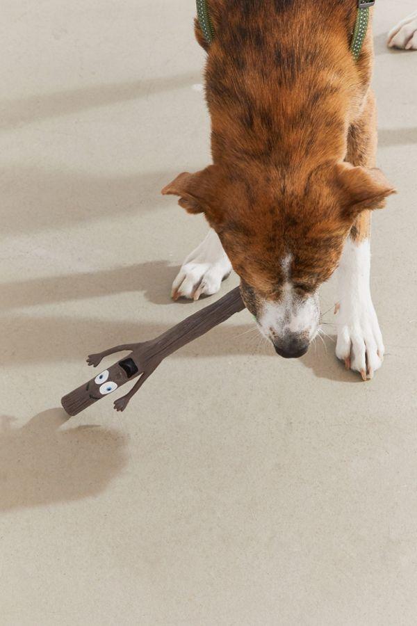 Slide View: 1: Mr. Stick Dog Toy