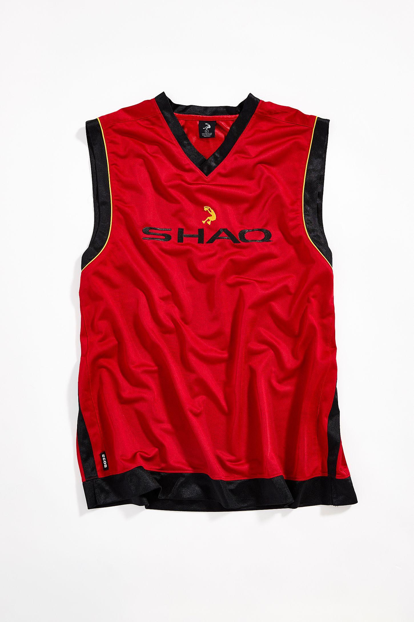 quality design 2e1bf 520b3 Vintage Shaq Brand Basketball Jersey