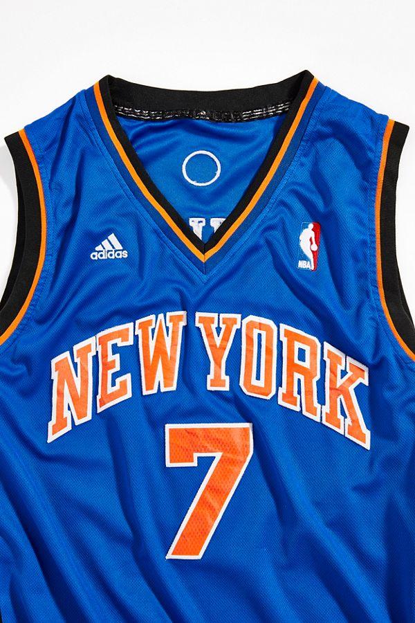 sports shoes ac2c0 183a3 Vintage New York Knicks Carmelo Anthony Basketball Jersey
