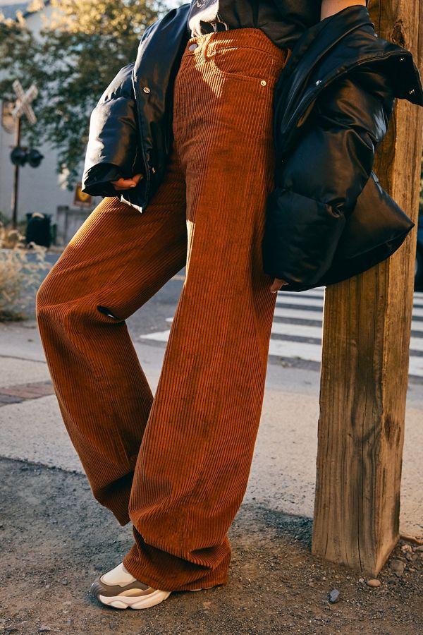 Levi's Ribcage Corduroy Wide Leg Pant by Levi's