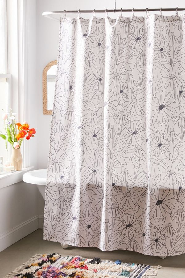 Slide View: 1: Alja Horvat For Deny Blooming Shower Curtain