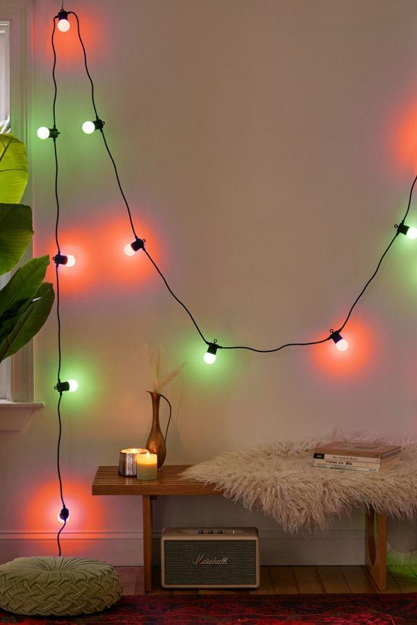 Slide View: 1: Twinkly Customizable Festoon String Lights