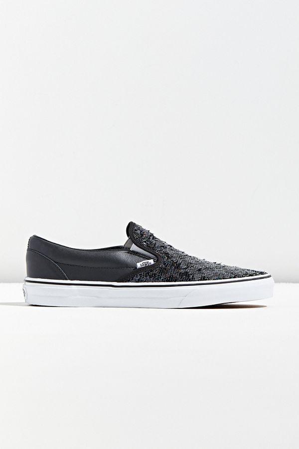 Vans Slip On Flip Sequin Checkerboard Sneaker by Vans