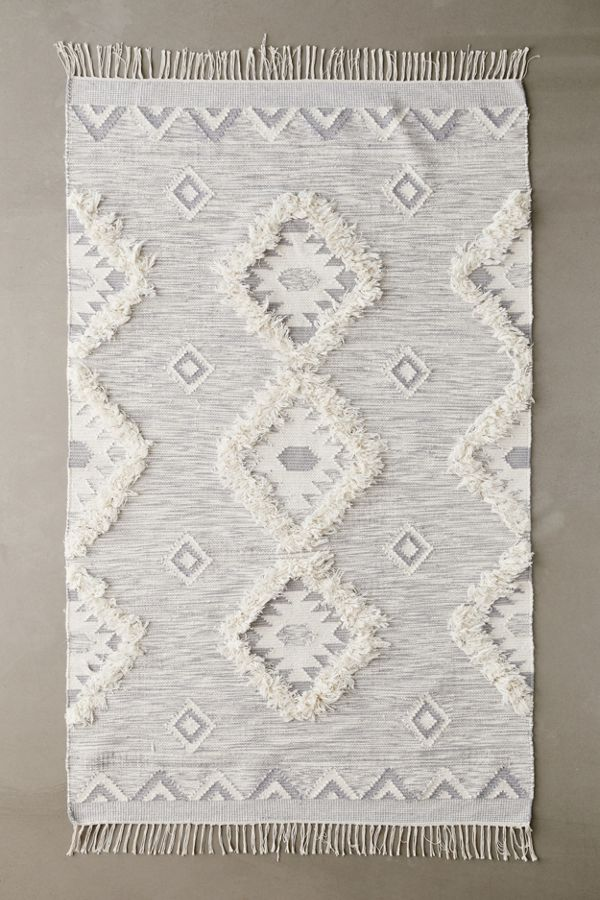 Shayla Woven + Tufted Rug by Urban Outfitters
