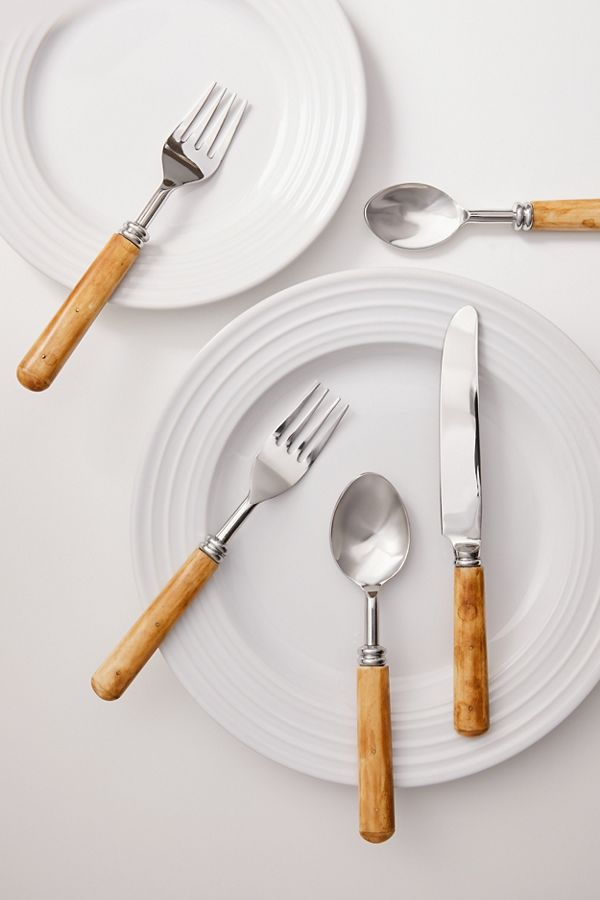 Slide View: 1: Convergence 5-Piece Flatware Set