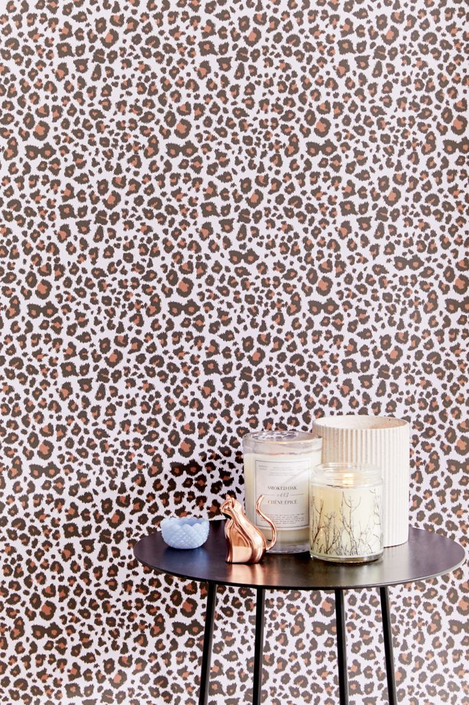 Leopard Removable Wallpaper Urban Outfitters