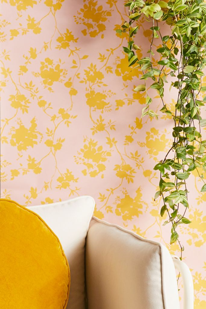 Vine Leaf Removable Wallpaper Urban Outfitters