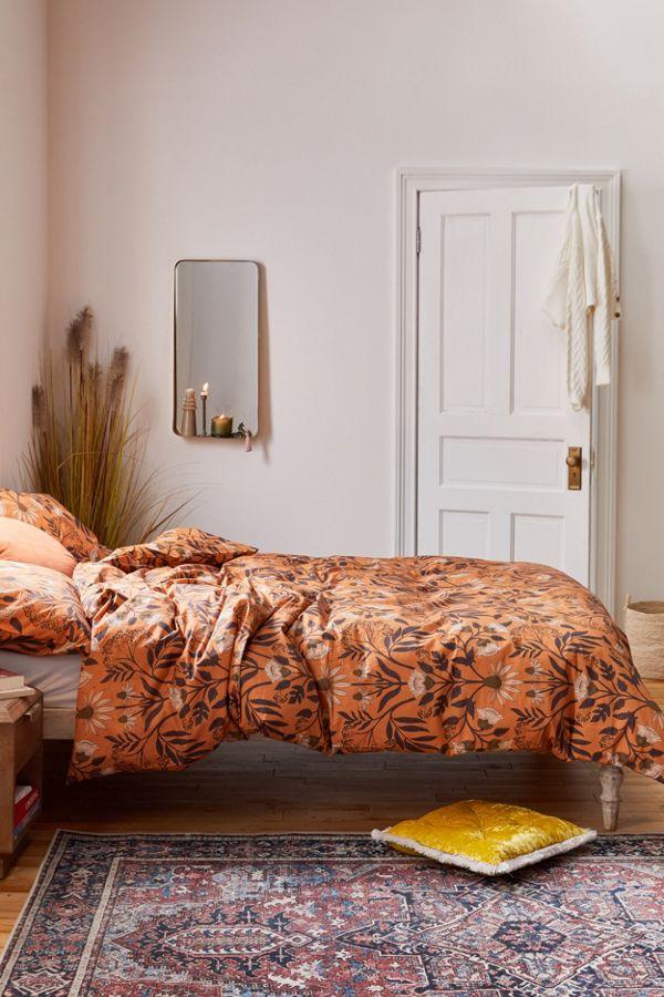 Slide View: 1: Camille Floral Duvet Set