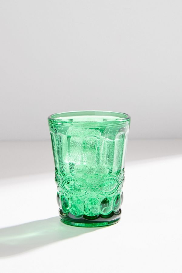 Eve Embossed Juice Glass by Urban Outfitters