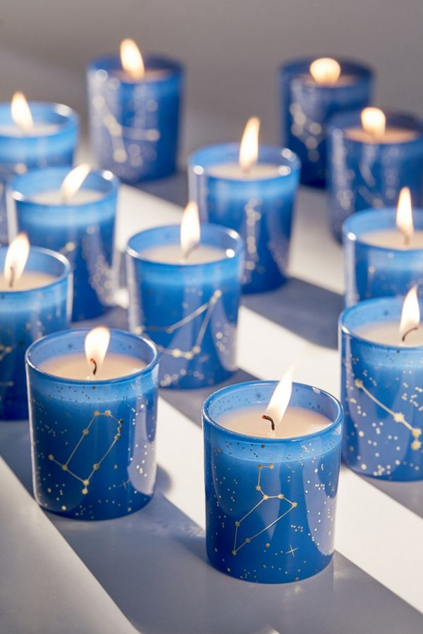 Slide View: 1: Constellation Scented Candle - Set Of 12