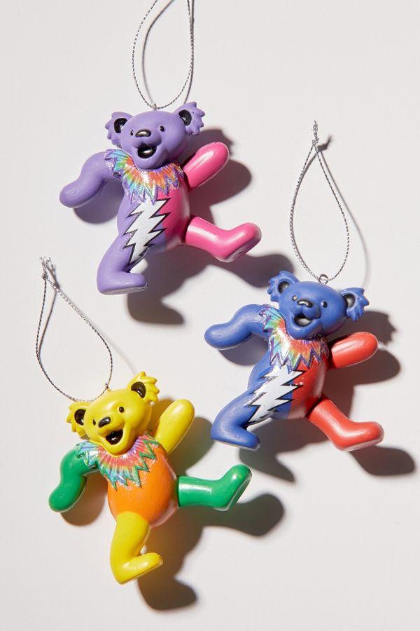 Grateful Dead Christmas Ornament.Grateful Dead Bear Christmas Ornament