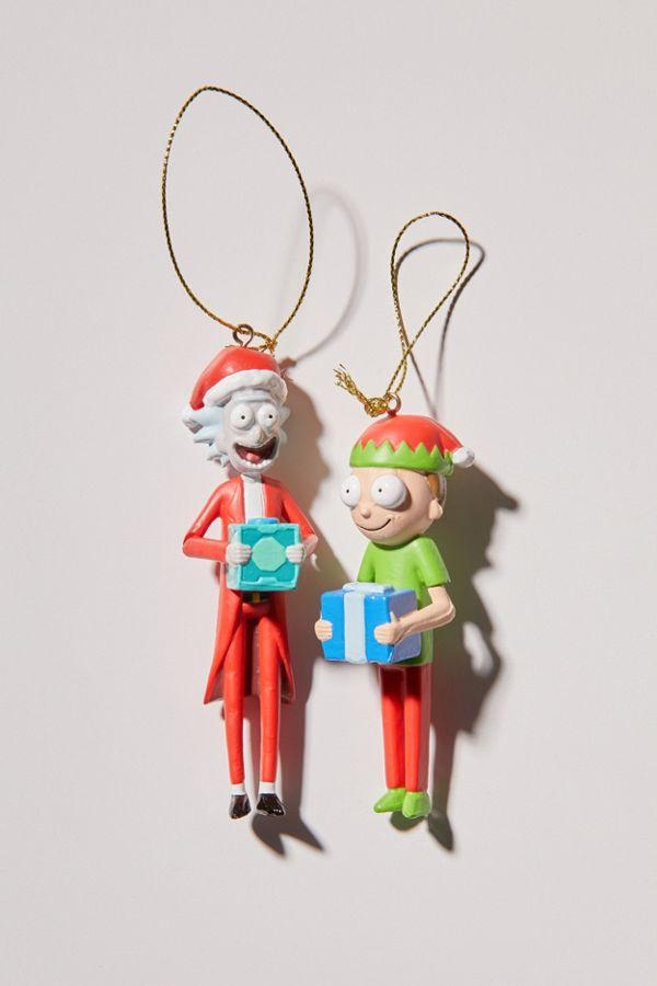Rick And Morty Christmas Ornaments.Rick And Morty Christmas Ornament