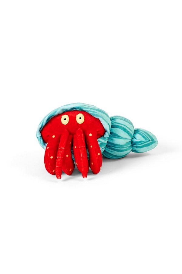 Slide View: 1: BARK Homer Hermit Crab Dog Toy