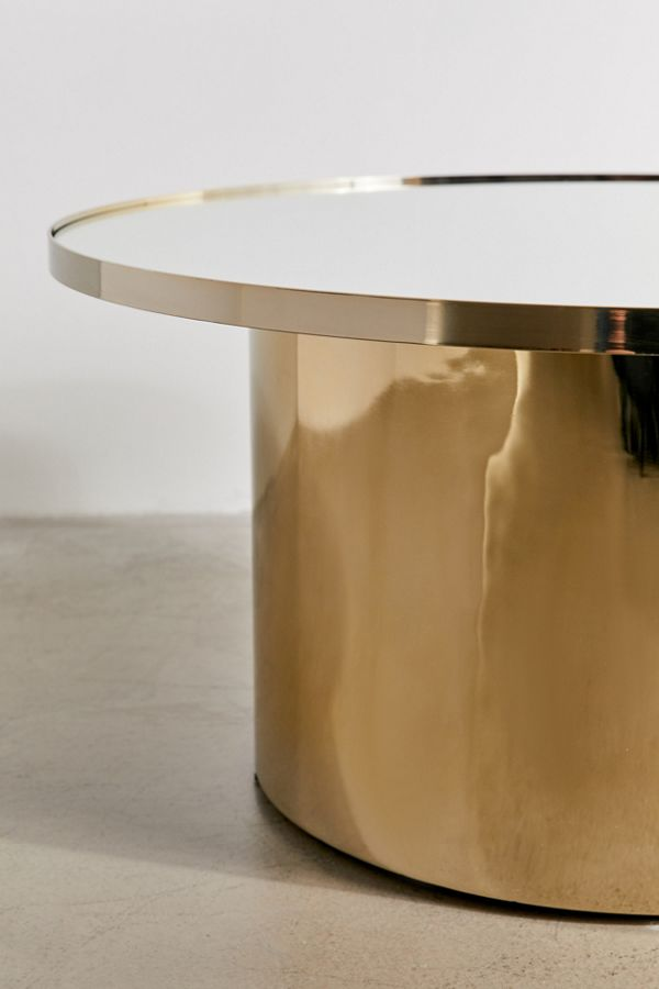 Marvelous Remi Mirrored Coffee Table Caraccident5 Cool Chair Designs And Ideas Caraccident5Info