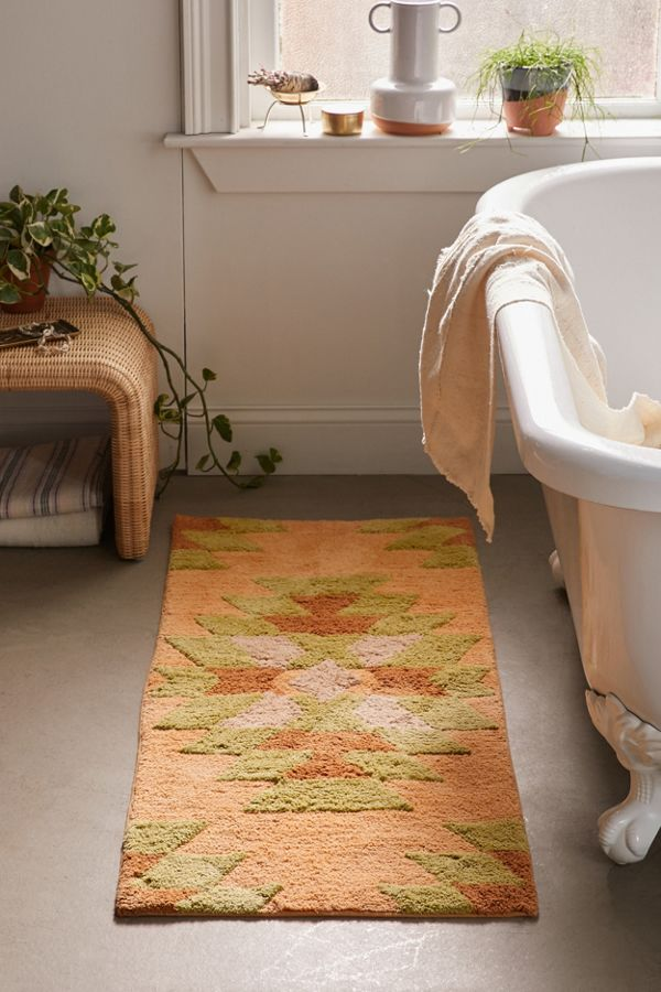 Ada Geo Runner Bath Mat by Urban Outfitters
