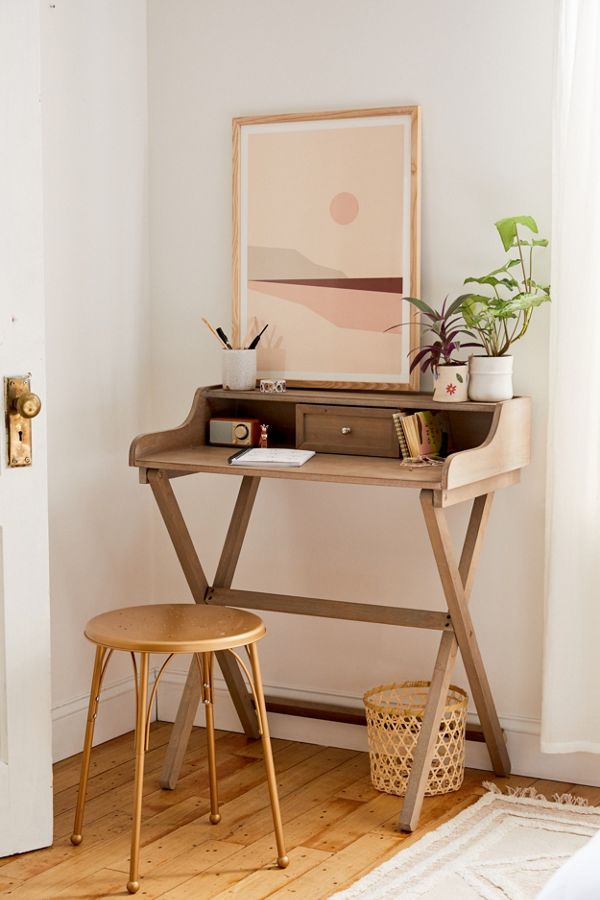 Slide View: 1: Cory Folding Desk